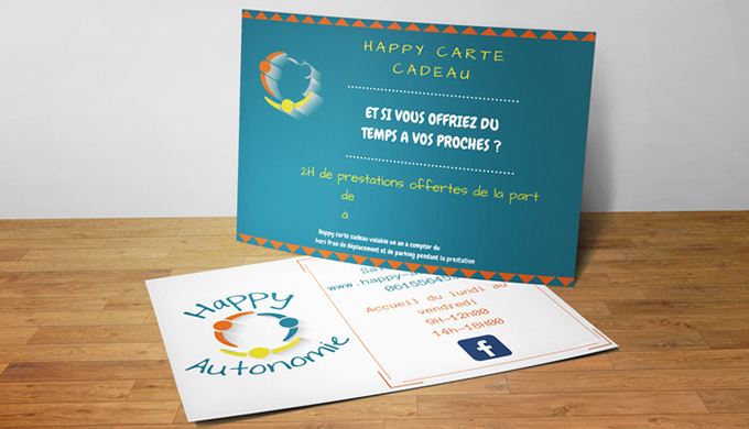 Photo de la carte cadeau Happy Autonomie