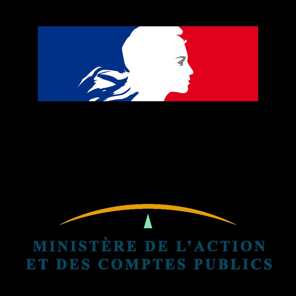Logo République Française et Ministère de l'action et des comptes publics